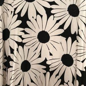 ASOS Dresses - ASOS Swing Dress in Daisy Mono Print